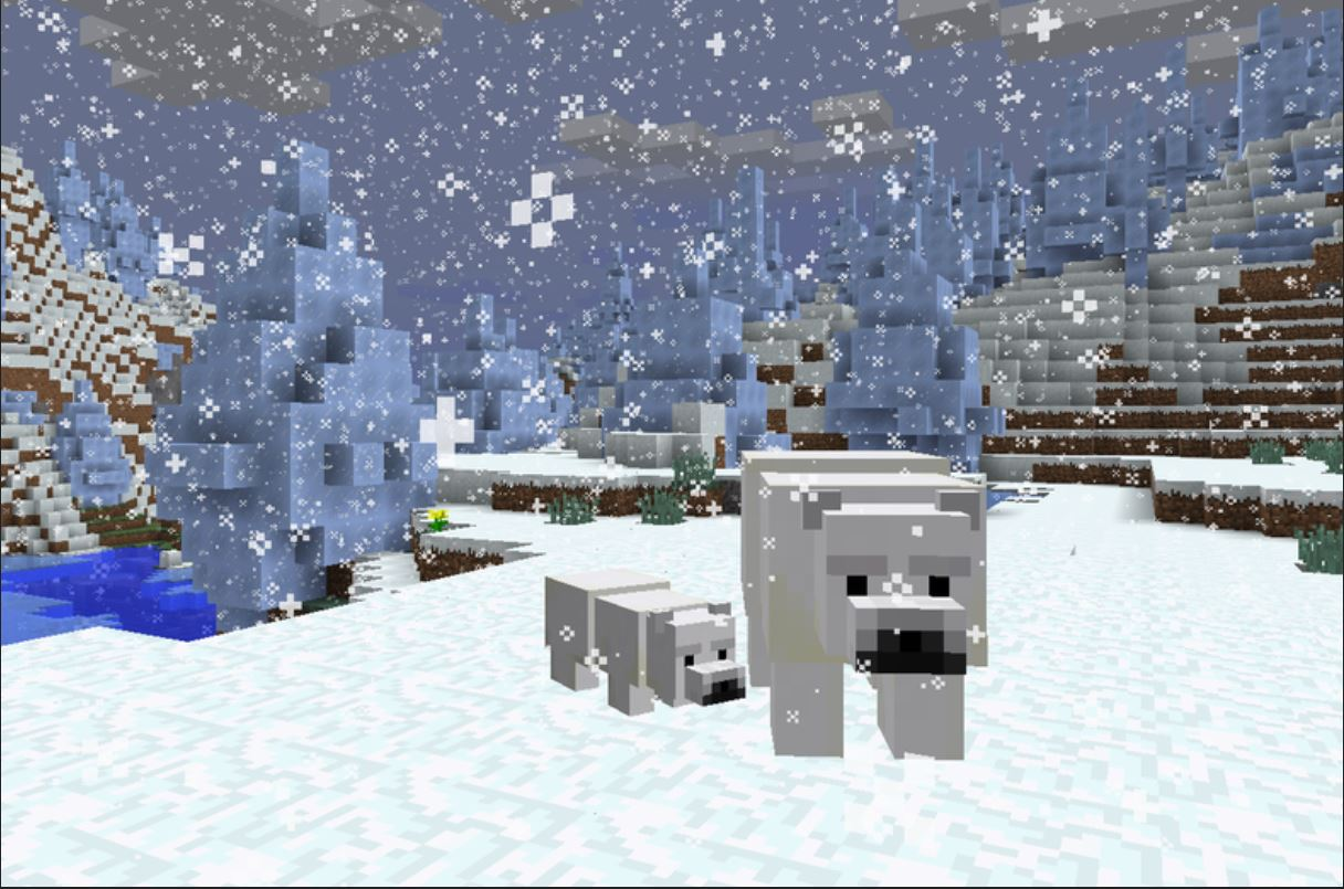 Minecraft Mobs Explored: Polar Bear, The Bear That Will Protect Its Baby Cubs