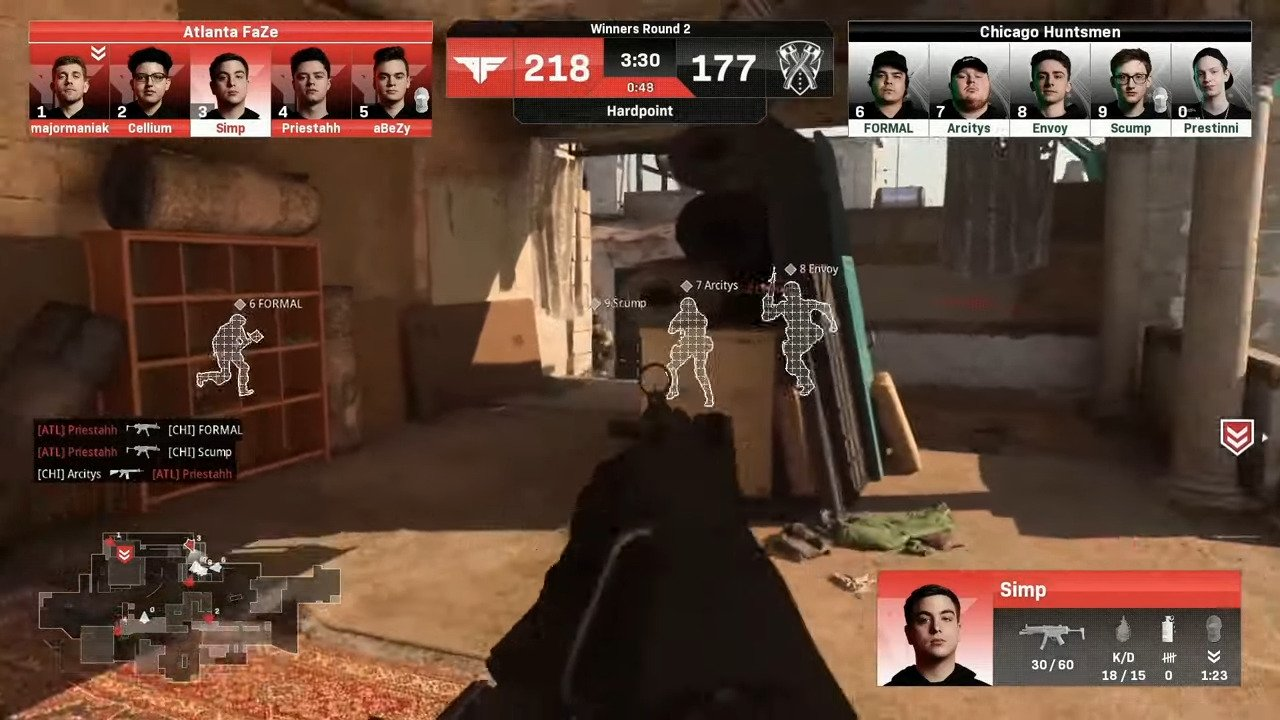 CDL – Highly-Anticipated Match Between The Atlanta FaZe And Chicago Huntsmen Ends With An Epic 3-2 Series