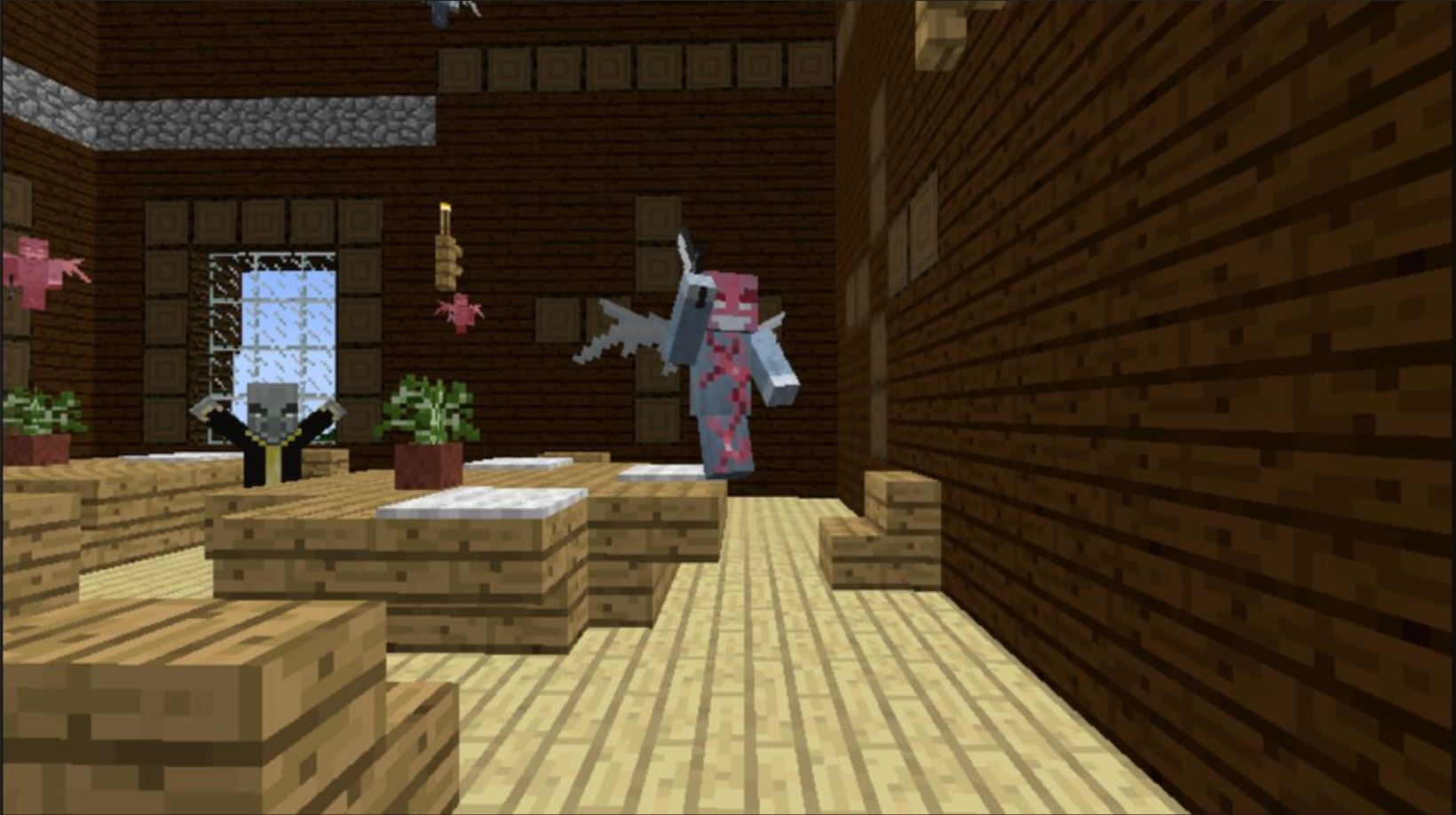 Minecraft Mobs Explored: Vex, A Evil Fairy Spawned And Controlled By The Evil Evoker
