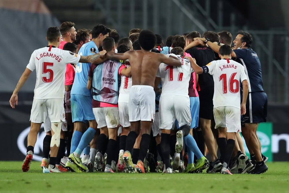 Sevilla Wins the Europa League for the 6th Time, Defeat Inter in the Finals, 3-2