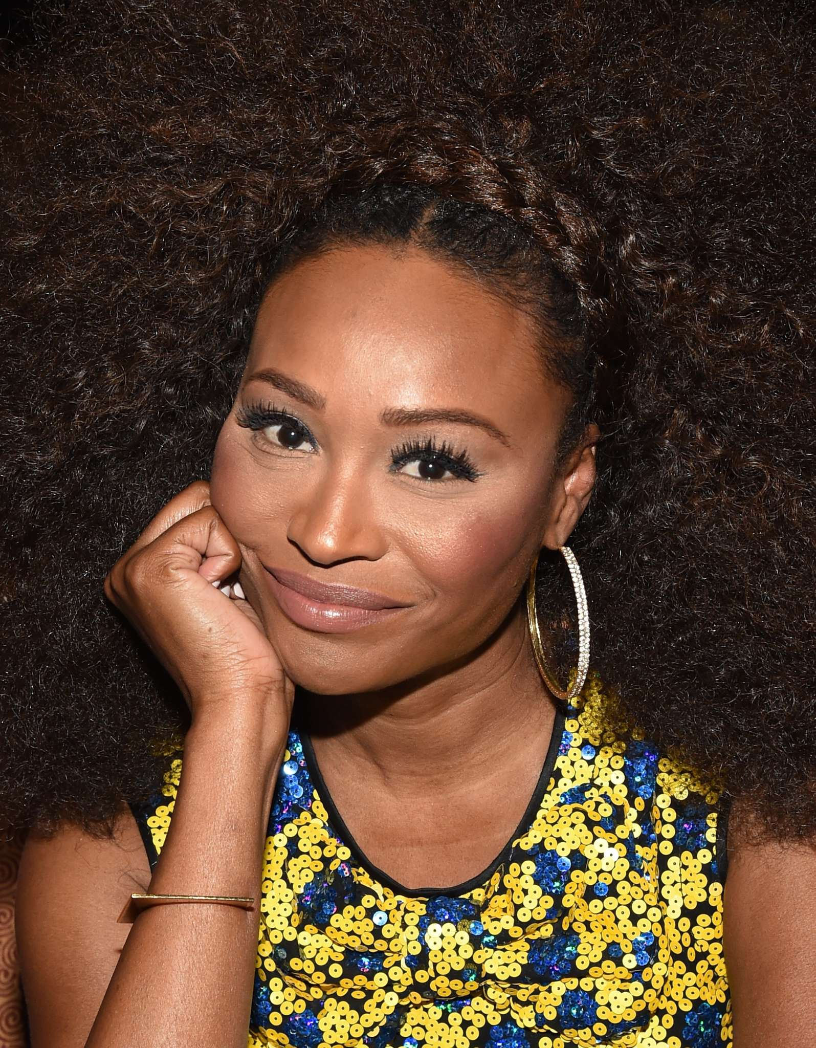 Cynthia Bailey Shows Off Her Amazing Afro And Fans Are In Love With Her Look