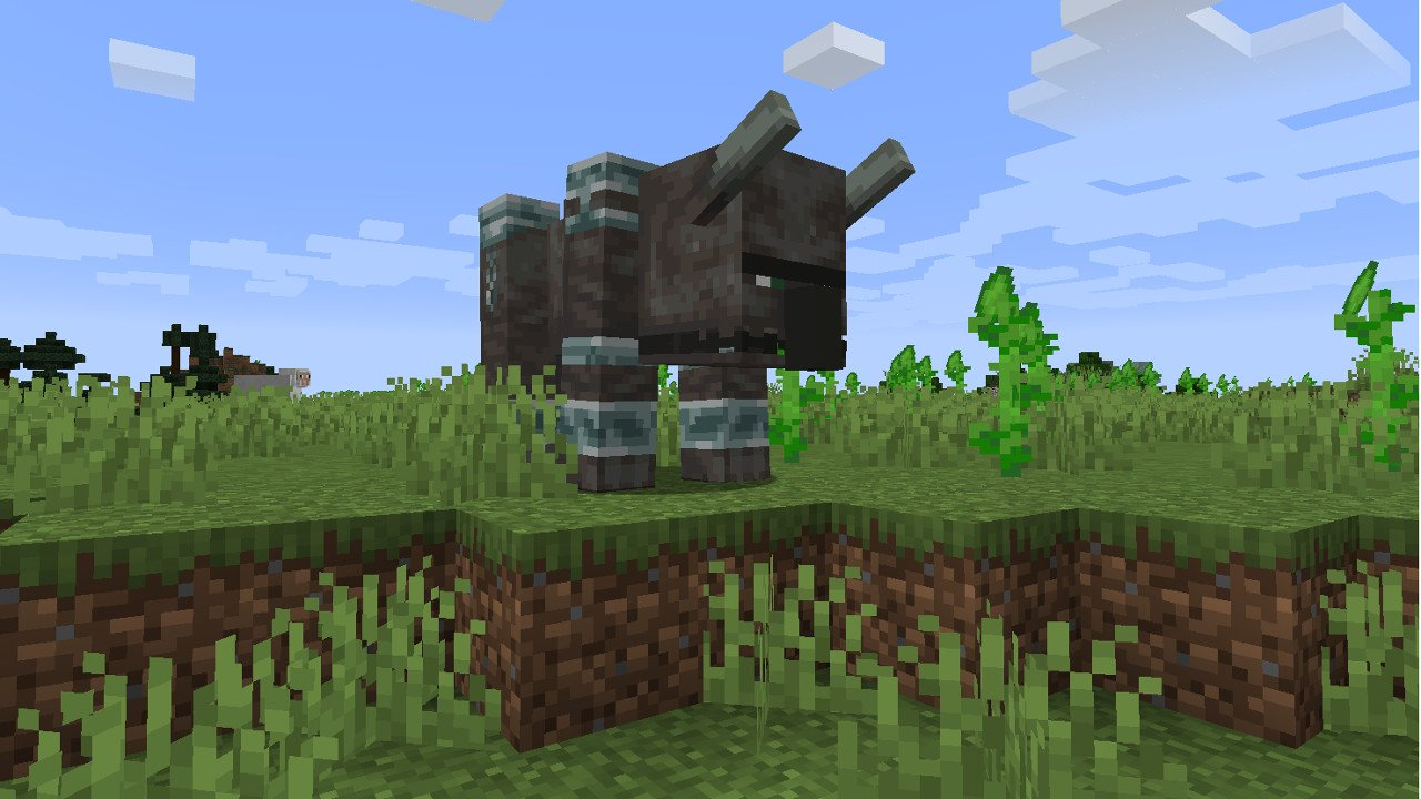 Minecraft Mobs Explored: The Ravager, A New Dangerous Mount For The Illagers!