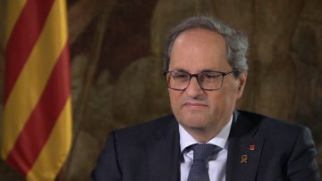 Fresh uncertainty in Catalonia as court rules against leader