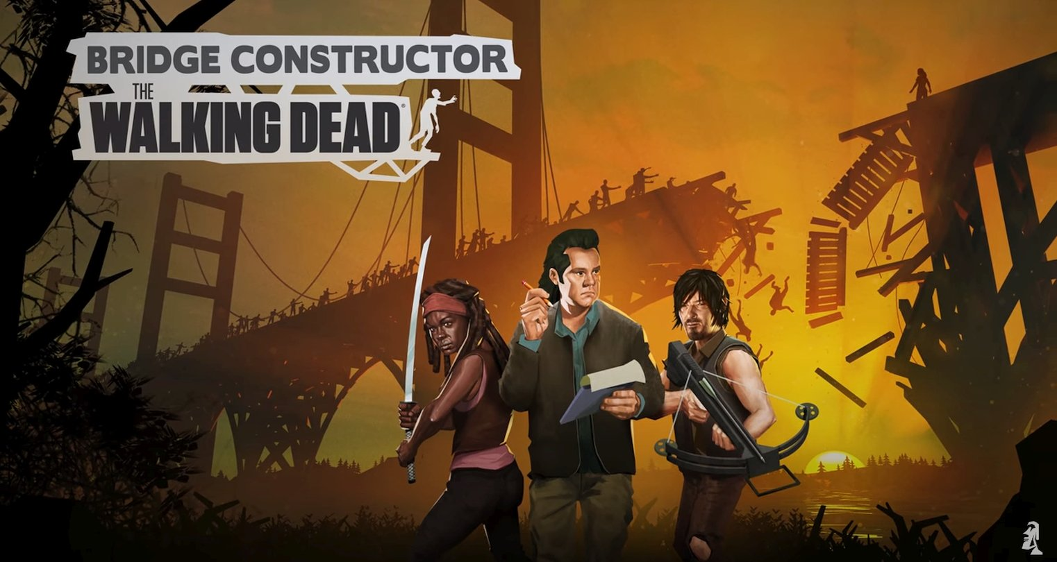 Headup Games And AMC Team Up For Bridge Constructor: The Walking Dead
