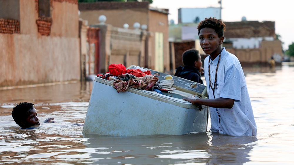'We lost everything': Thousands homeless as Sudan battles floods