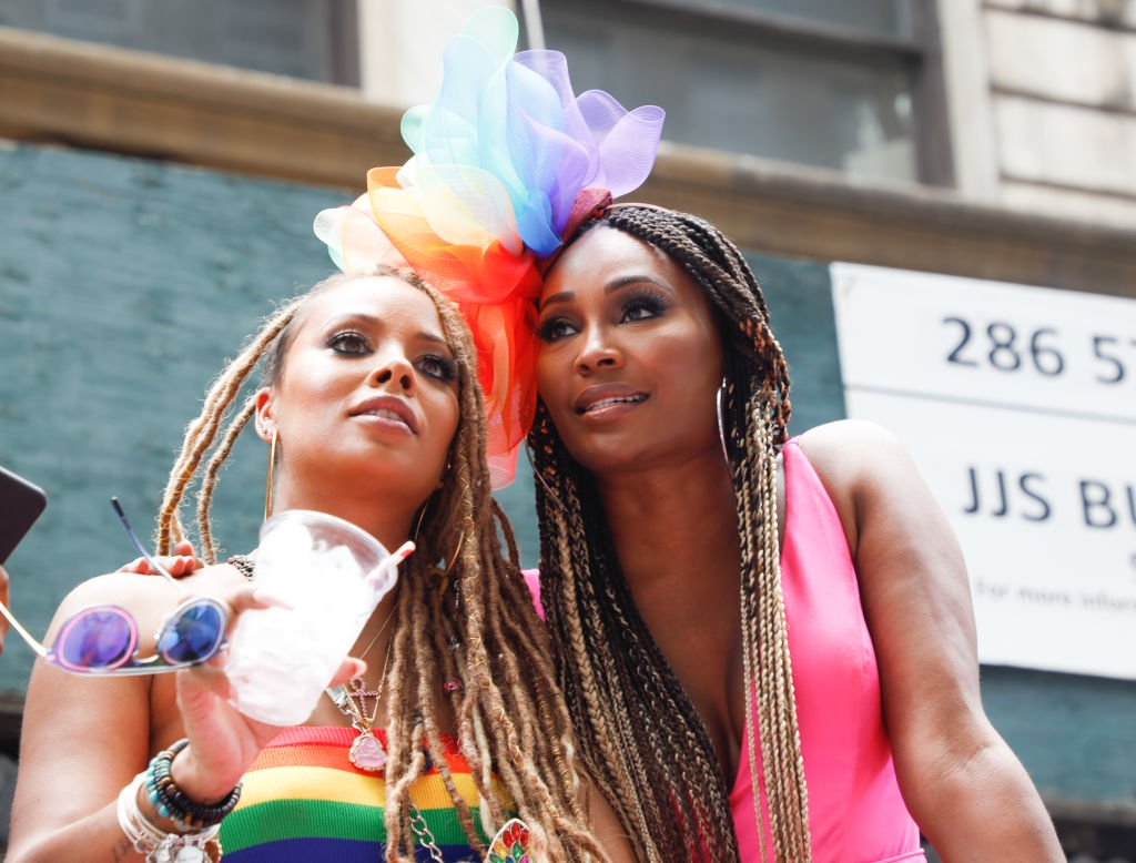 Cynthia Bailey Seems Unbothered By Haters' Remarks That She Should Lose Weight And Eva Marcille Praises Her