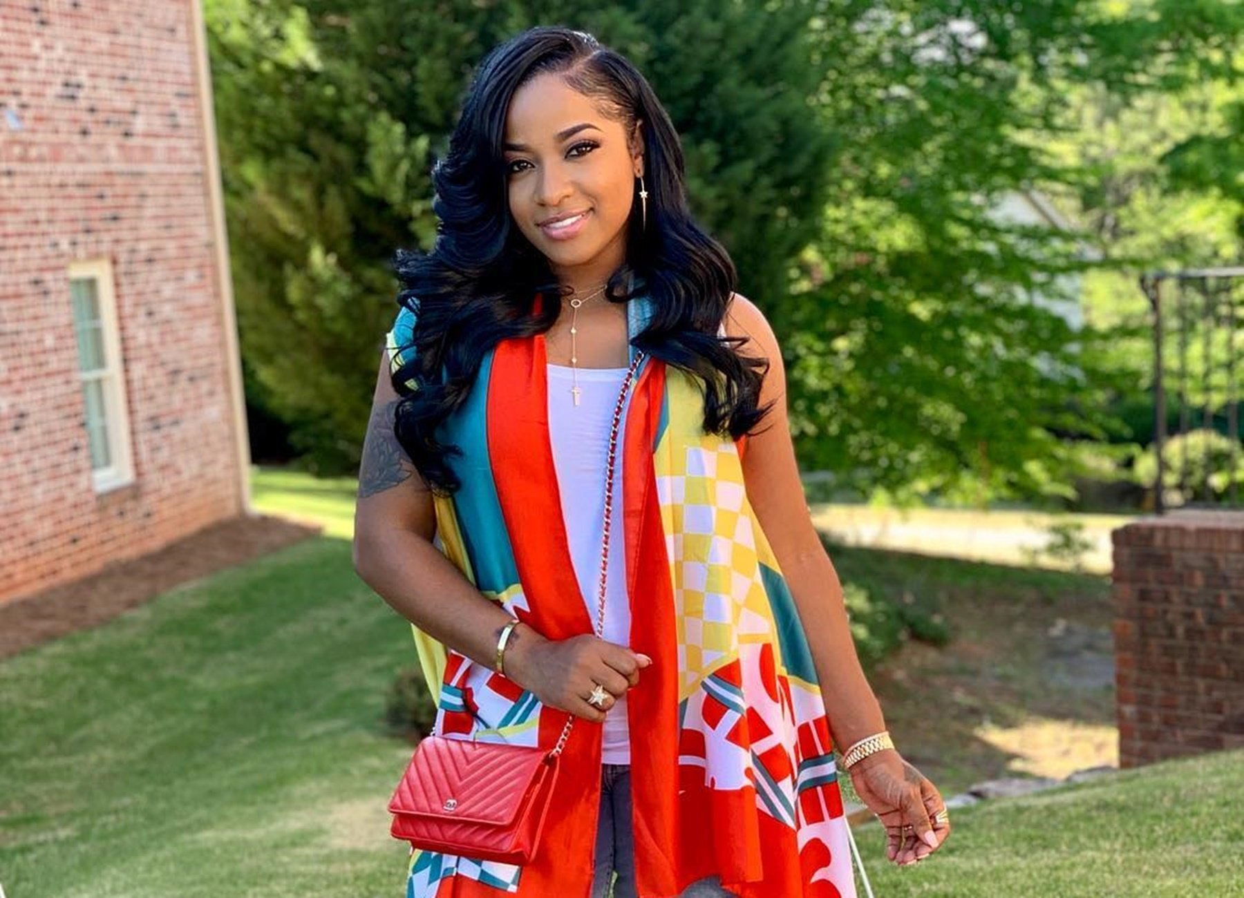 Toya Johnson Has Fans' Jaws Dropping In White Lingerie – See The Fabulous Photos