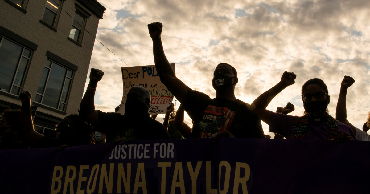 In Breonna Taylor's Louisville, anger fuels demand for change