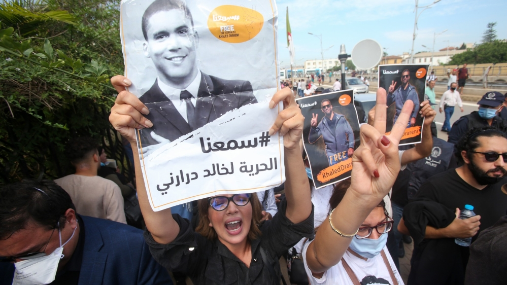 Algerian journalist jailed on appeal over 2019 protests coverage