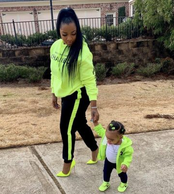 Toya Johnson Gushes Over Her Her Baby Girl, Reign Rushing – Check Out Her Photo