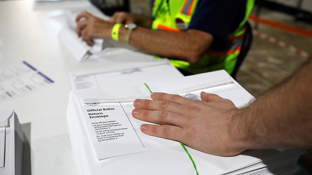 Blind US voters sue over lack of accessible, mail-in ballots
