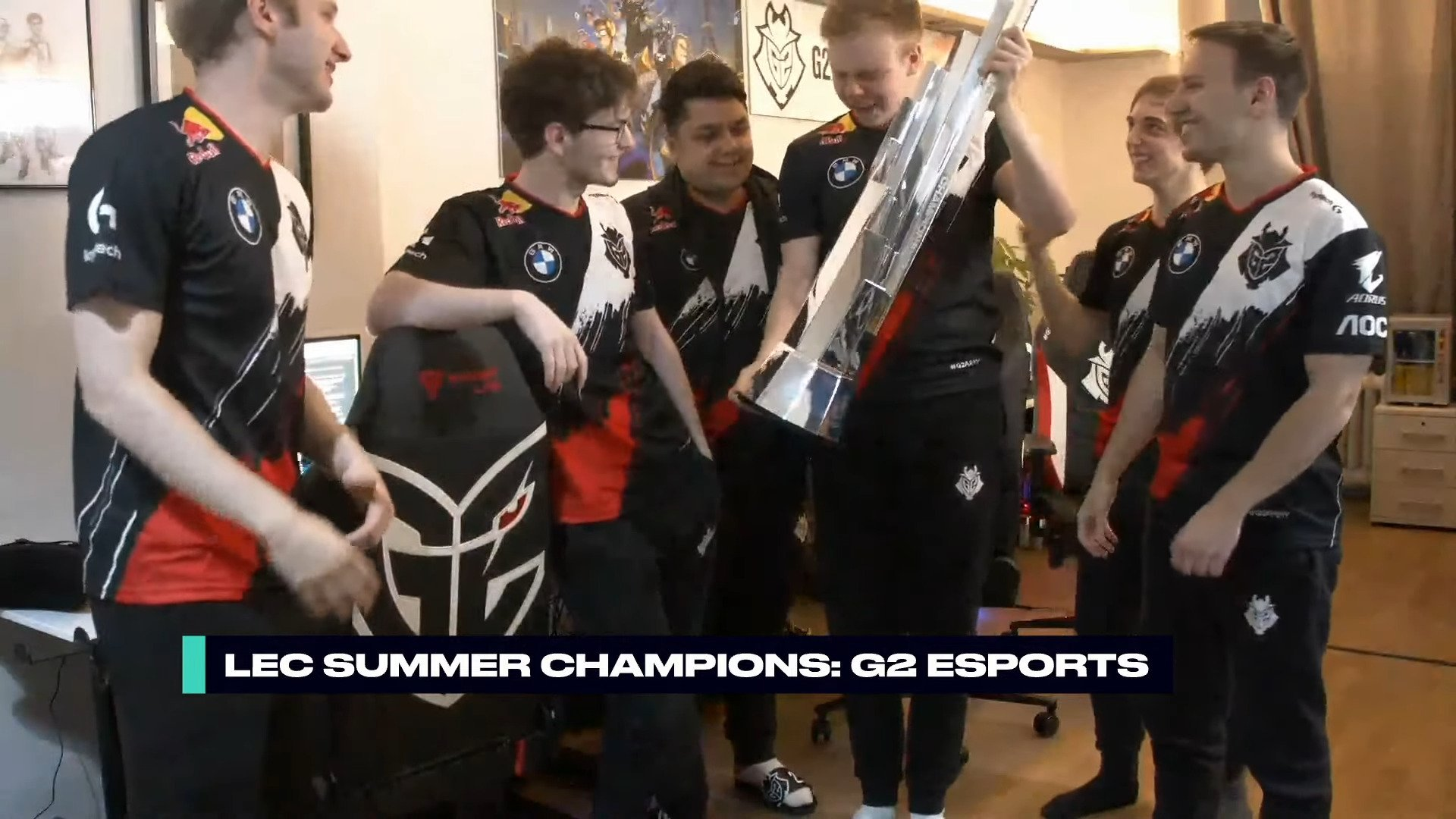 LEC – G2 Claims Eighth Title After A Clean Sweep Against Fnatic In The 2020 Summer Split