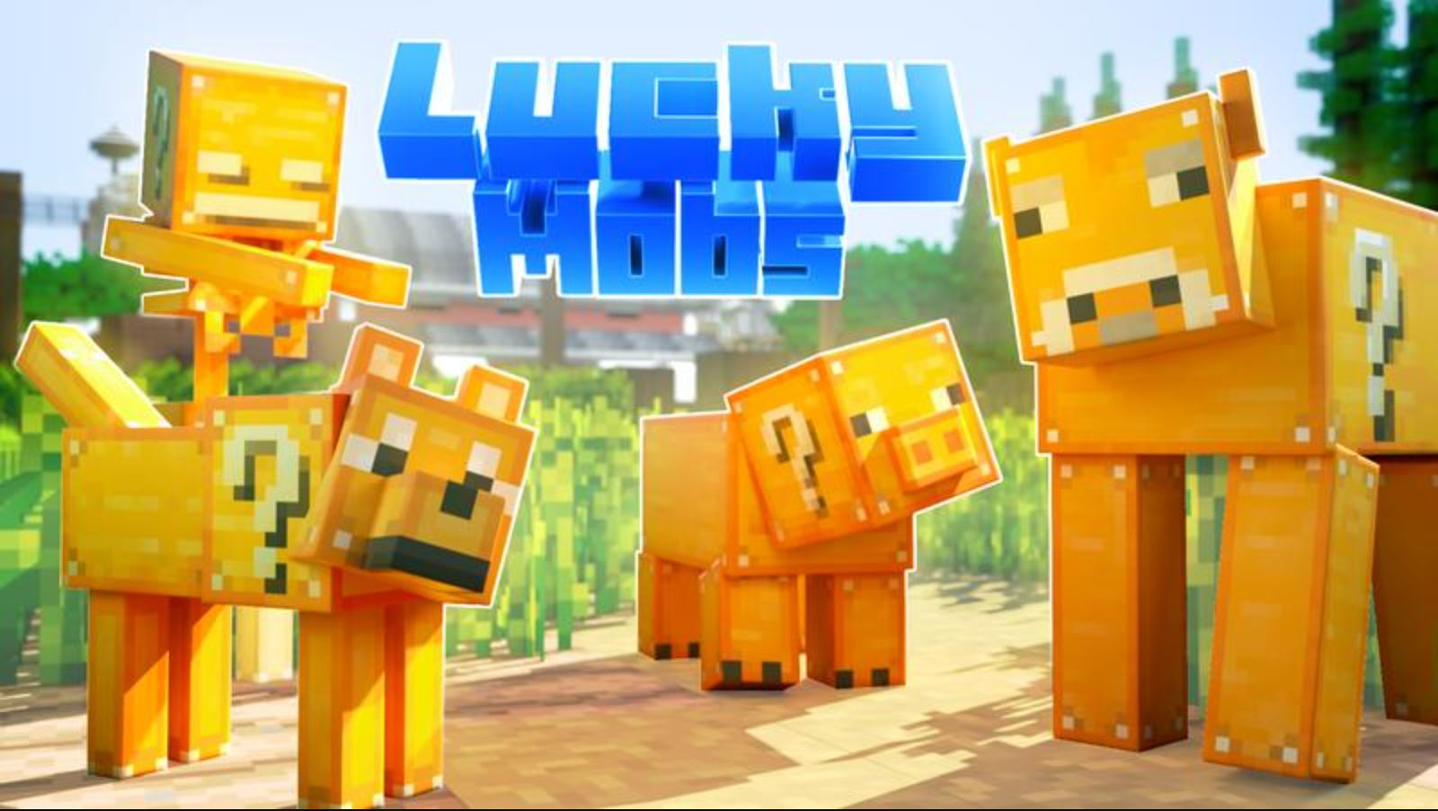 Minecraft Marketplace Explored: Lucky Mobs, A Different Way To Take Your Chances!