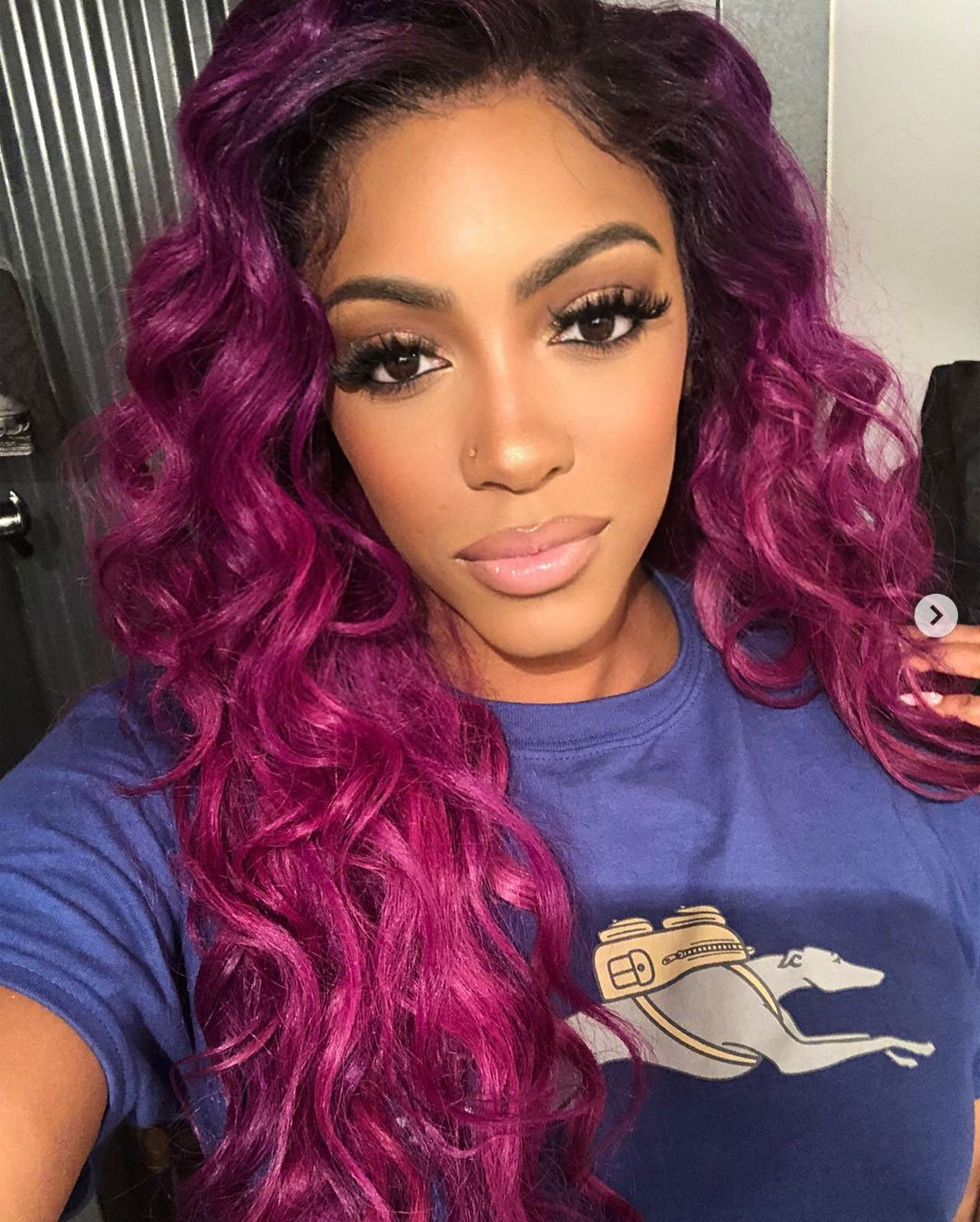 Porsha Williams Looks Gorgeous In Lavender – Check Out Her Jaw-Dropping Outfit