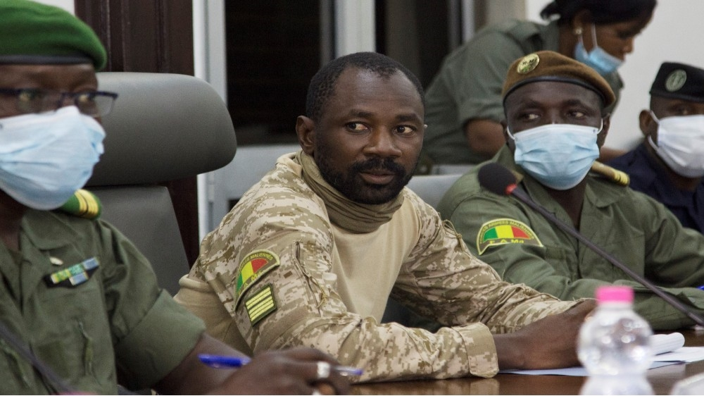Mali military backs 18-month transition government as talks close