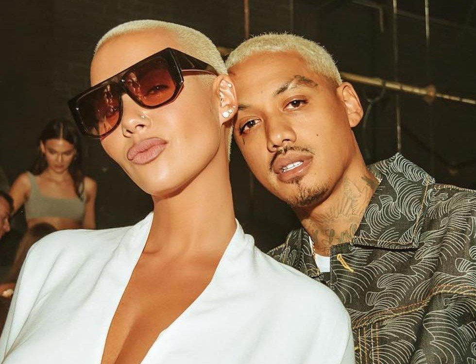 """Amber Rose Calls Alexander """"A.E."""" Edwards Her 'Husband' – Did They Secretly Tied The Knot?"""