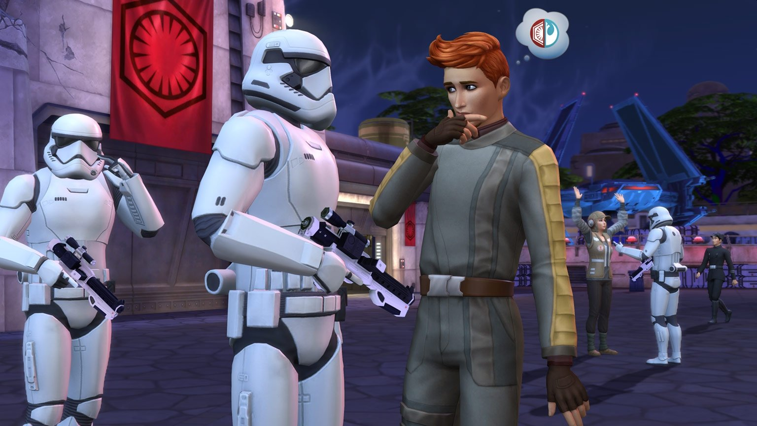 EA Announces Next The Sims 4 Game Pack Star Wars: Journey To Batuu