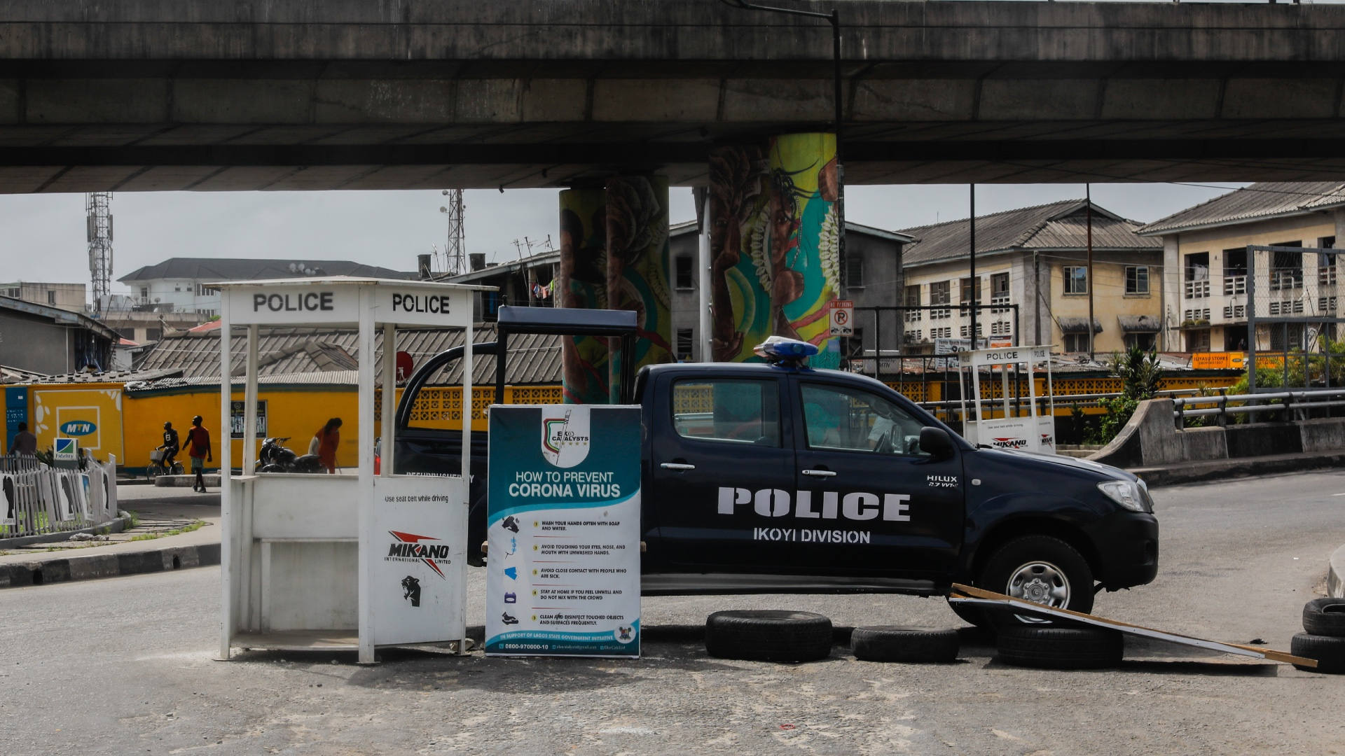 Women 'abused' by police enforcing COVID-19 rules in Nigeria