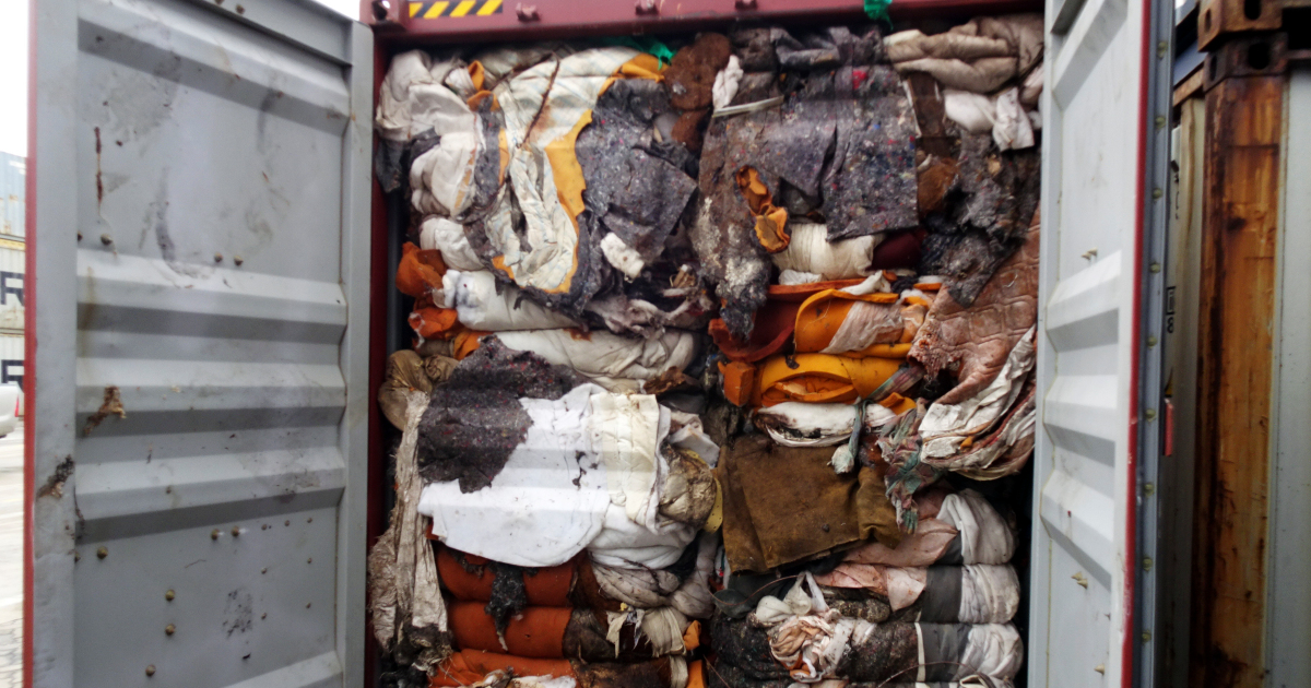 Sri Lanka returns containers of illegal waste to Britain: Customs