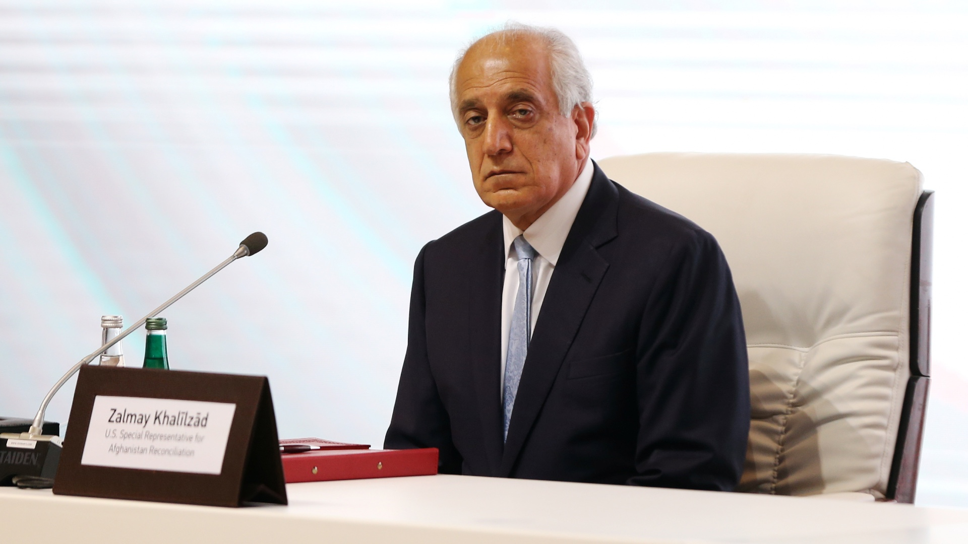 US envoy Khalilzad: We are watching the Afghan peace process