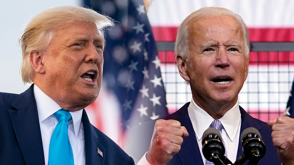 US elections live updates: Trump and Biden campaigns ramp up