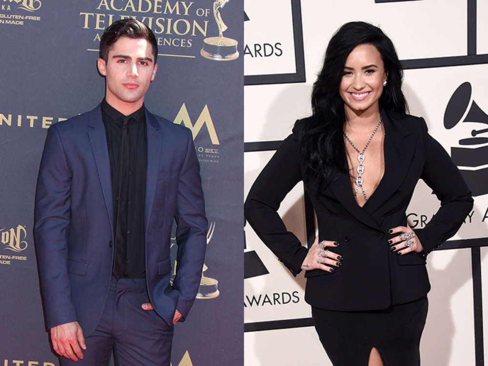 Max Ehrich Reveals He Found Out About His Split From Demi Lovato Through A Tabloid Report