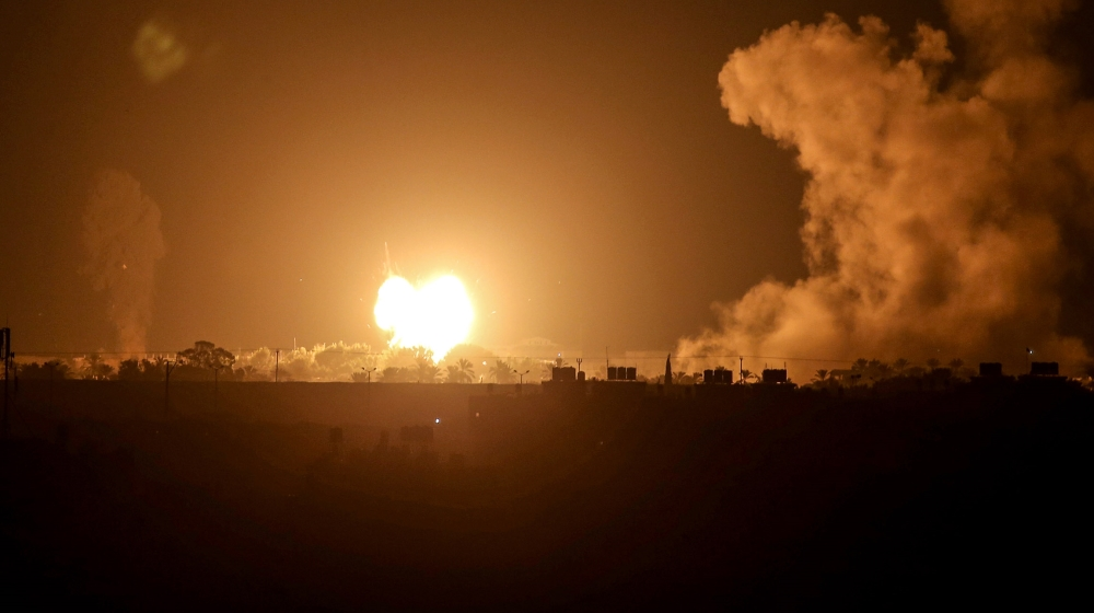 Israel bombs Gaza after rocket fire as UAE, Bahrain sign deals