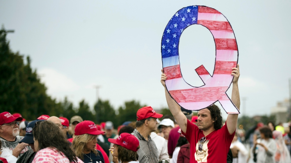 Mike Pence backs out of fundraiser hosted by QAnon supporters