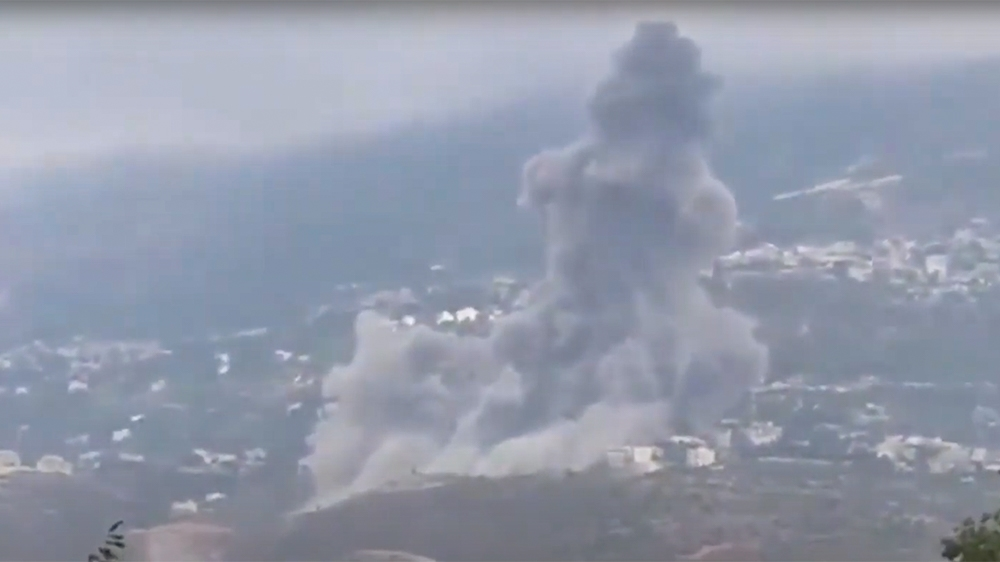 Blast reported in Hezbollah stronghold in south Lebanon