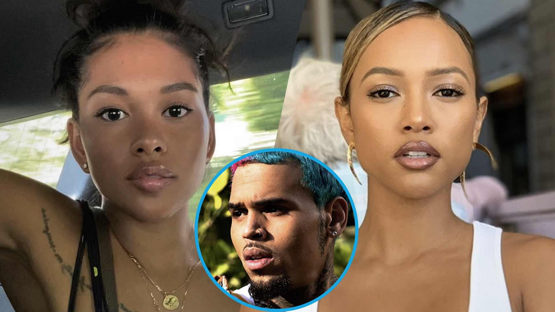 Chris Brown's Baby Mama, Ammika Harris Is Effortlessly Stunning In These Photos – Some Haters Accuse Her Of Copying Karrueche