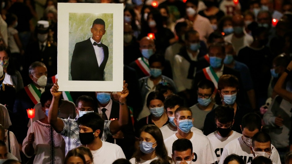 Italy: Hundreds at funeral of Black man brutally beaten to death