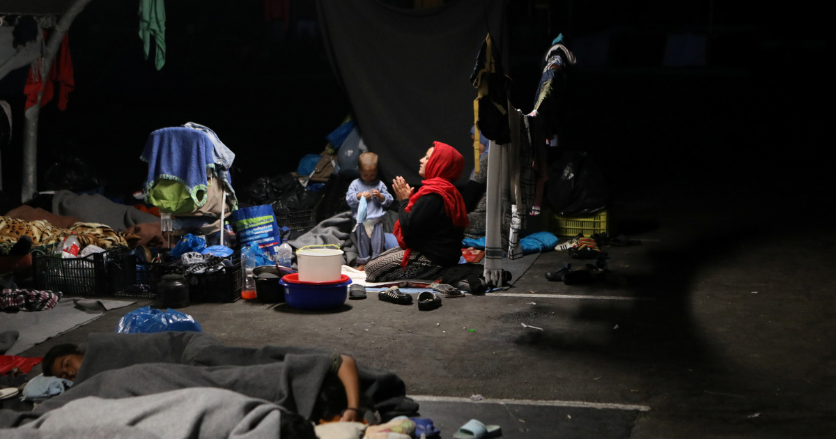 Does anyone care about the Moria refugees?