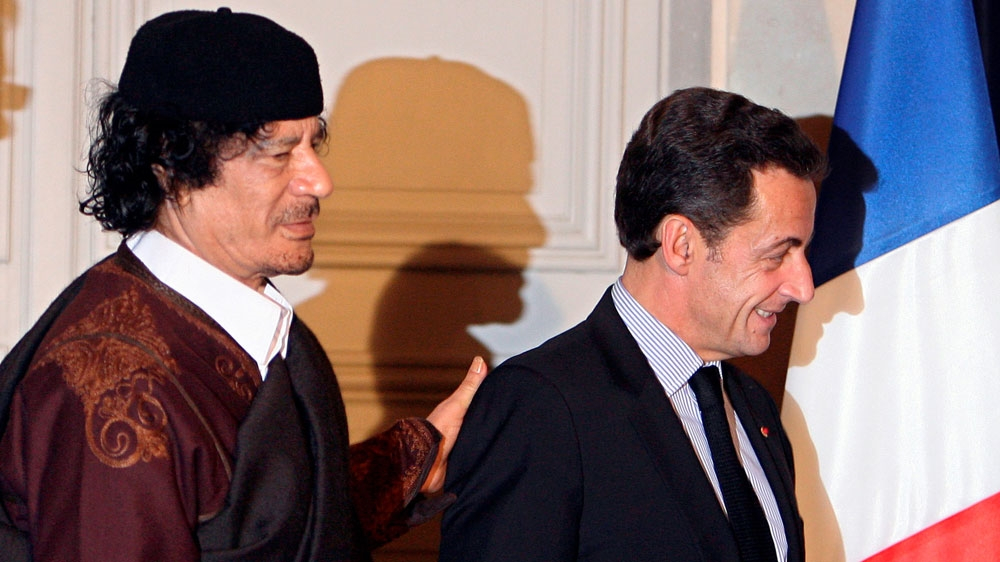 Sarkozy loses legal challenge over claims he accepted Libyan cash