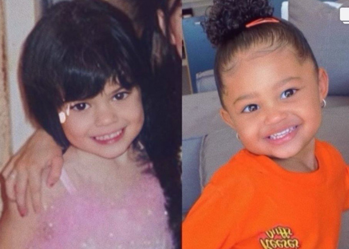 Kylie Jenner Shares Photo Of Herself And Stormi At The Same Age — Fans Think They're Twins!