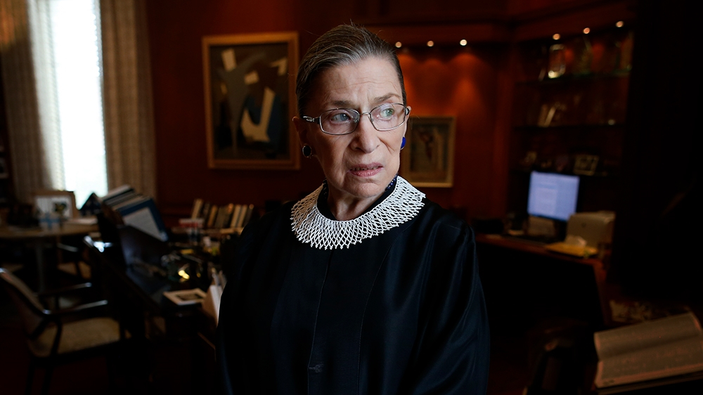 Ruth Bader Ginsburg: A life in pursuit of gender equality