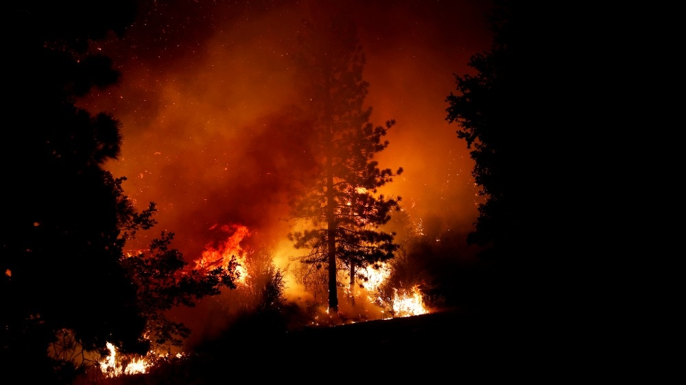 US wildfires: How climate change is spurring deadly blazes
