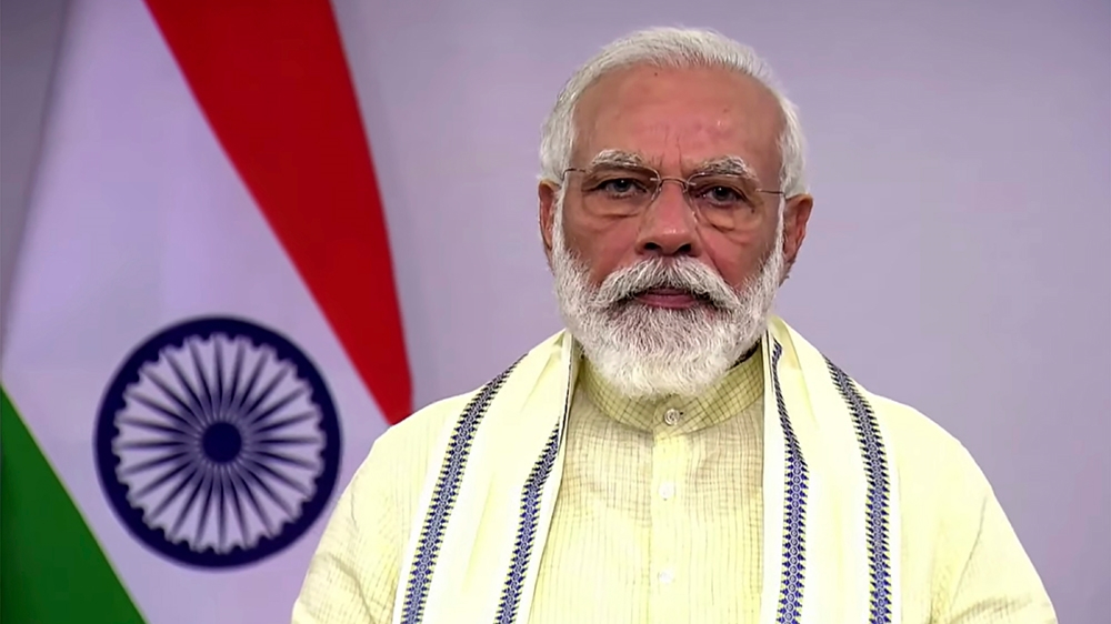 Modi offers India's COVID-19 vaccine capacity to 'all humanity'