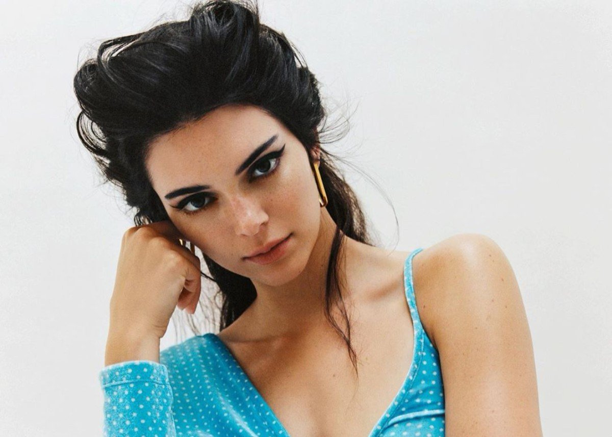 Kendall Jenner Is Beaming In Tawny Port Outfit