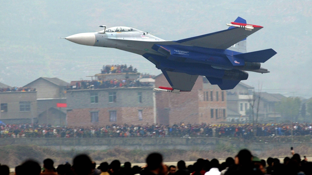 Chinese fighter jets enter Taiwan airspace for second day