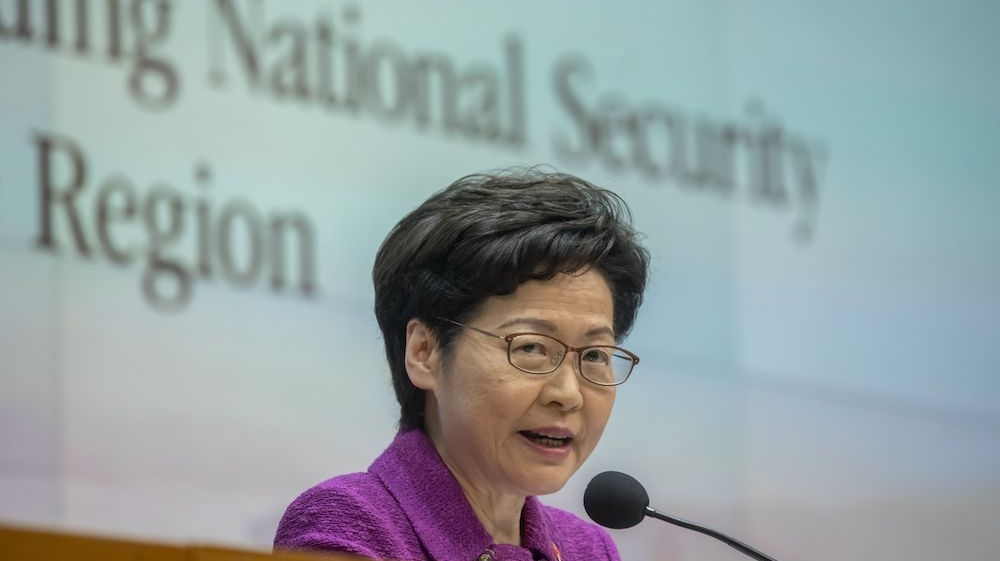 Hong Kong protests: US warns banks they could face sanctions
