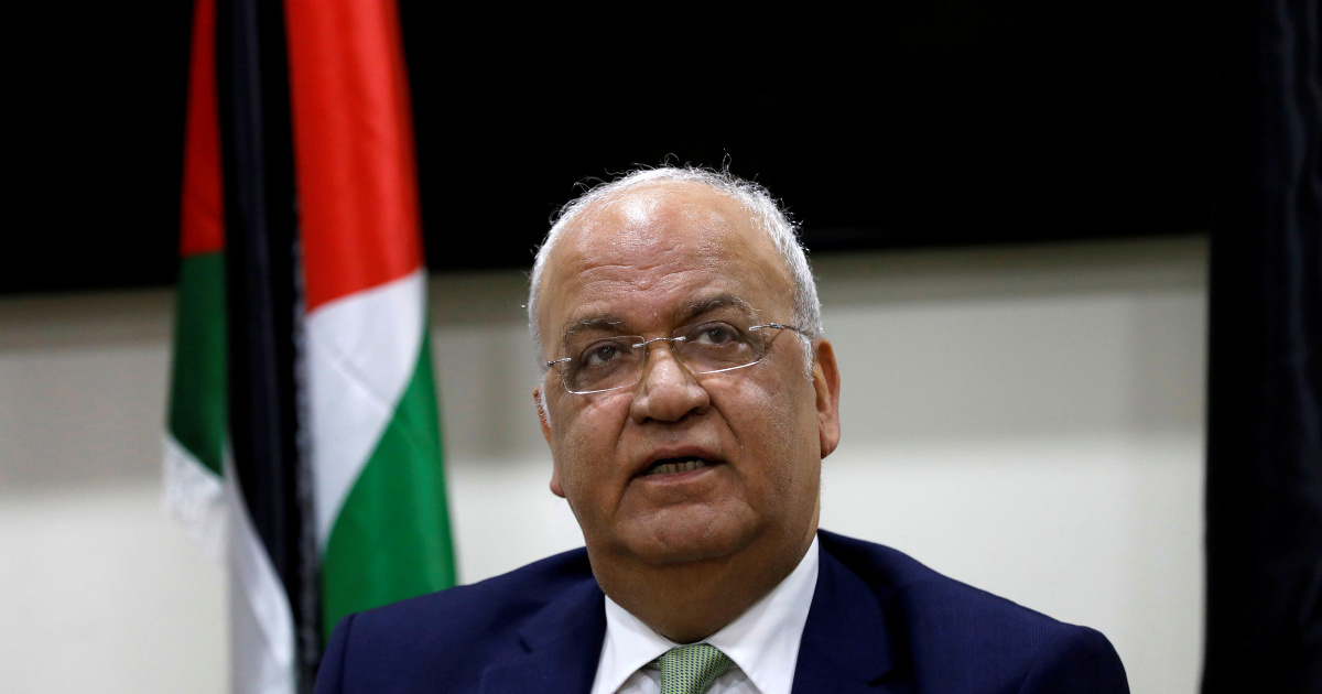 Top PLO official Erekat, stricken by COVID-19, taken to hospital