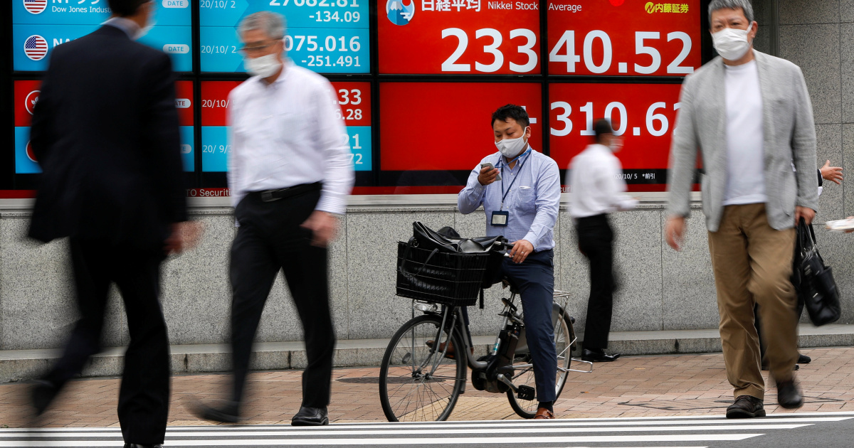 US economic stimulus hopes give stocks a boost – for now