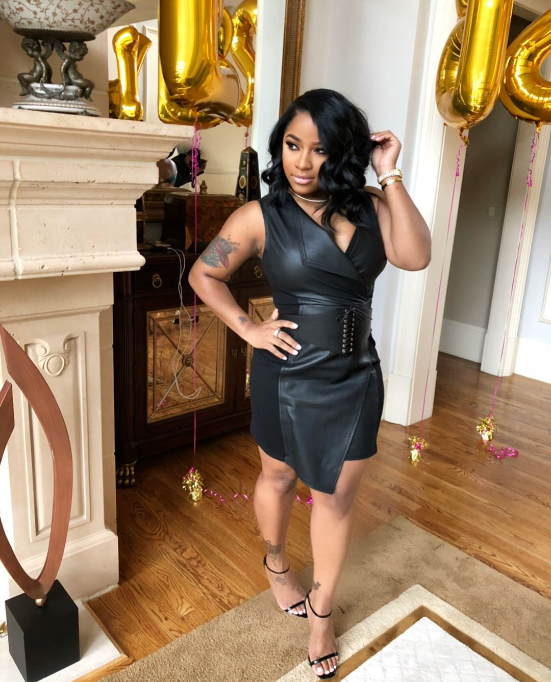 Toya Johnson Breaks The Internet With This Commercial – See Her Rocking Black Lingerie!
