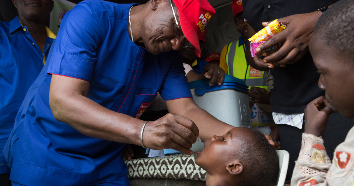 Q&A: 'We can eradicate polio from the world'