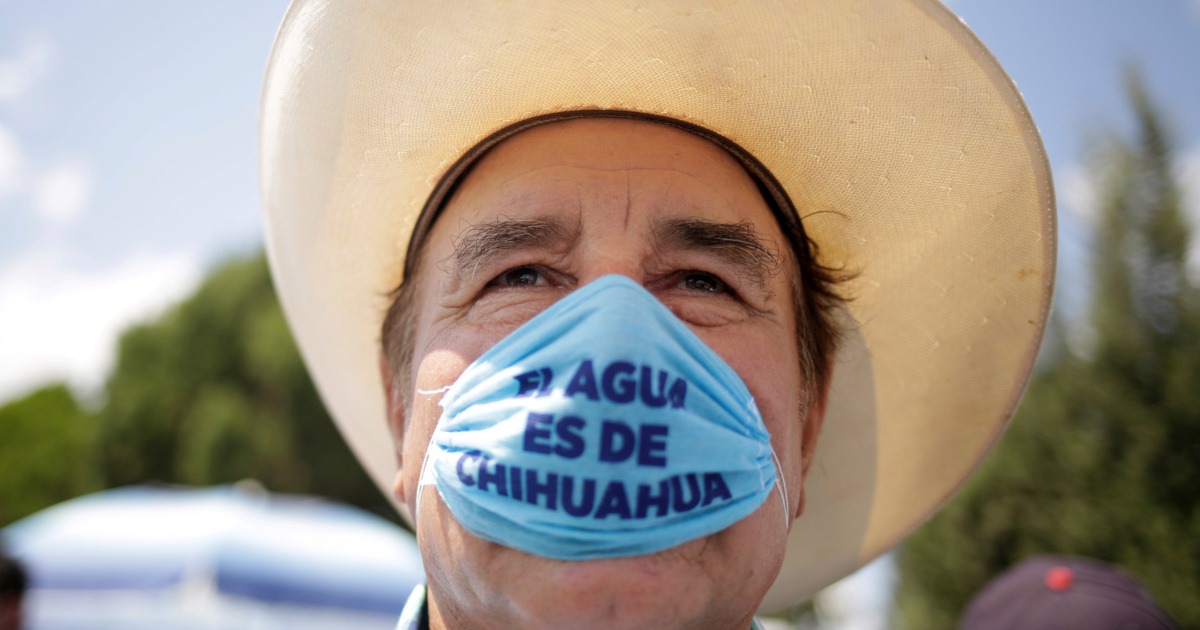 Mexico's water crisis heats up as transfer to US looms