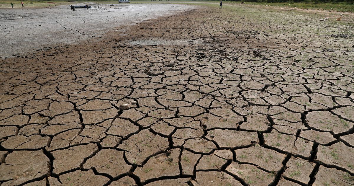 In Pictures: Paraguay River depleted by drought