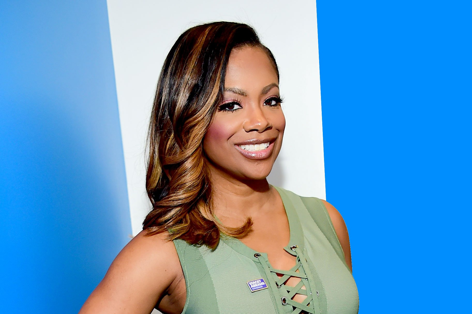 Kandi Burruss Is Back In The Studio! She Teamed Up With David Banner For A New Project