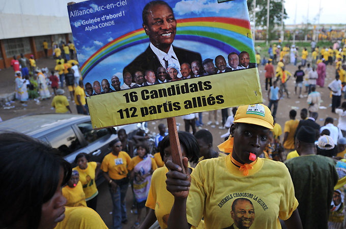 Conde and Diallo, old rivals facing off in Guinea election
