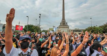 The protests in Thailand are making history
