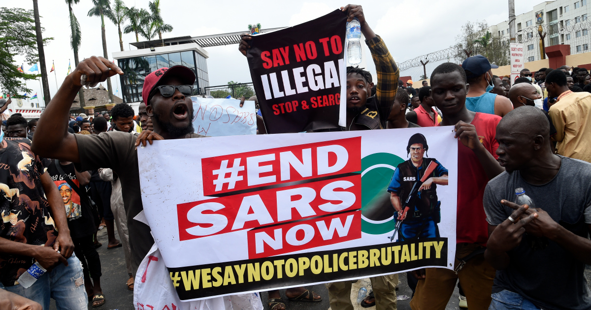 #EndSARS: Nigeria says Special Anti-Robbery Squad dissolved